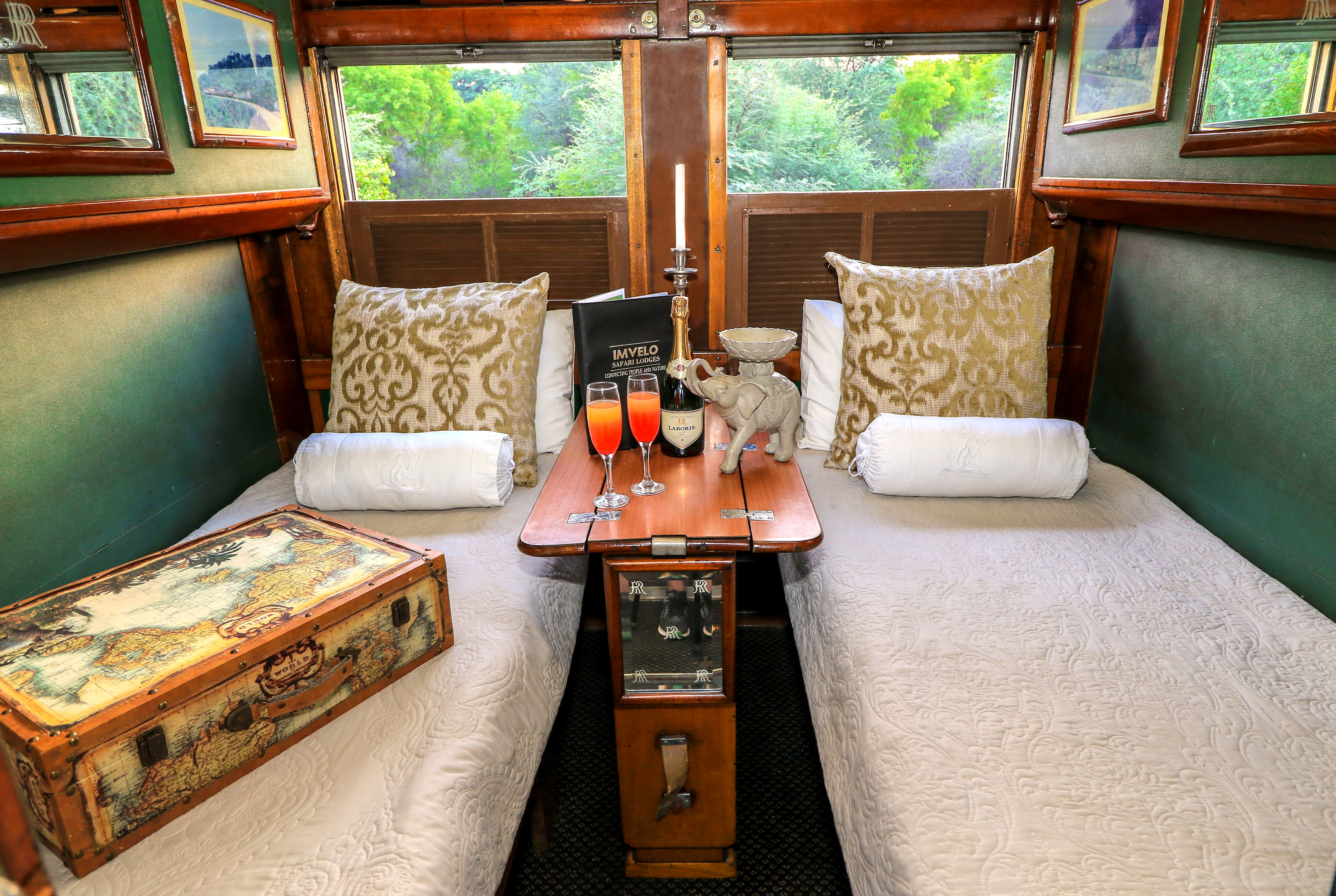 Imvelo Safari Lodges - Sleeper Train through Hwange!